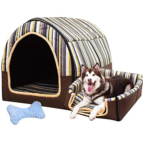 LVAB Haustierbett Großer Hund Hundehütte Winter Warm halten Waschbar Vier Jahreszeiten Hundehütte Innen- Hundehütte 6 Farben 6 Größe Wahlweise (Farbe : C, größe : XXXL)