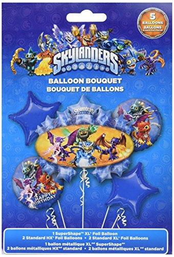 Anagram International Skylander Birthday Bouquet, Multicolor