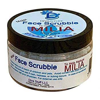 Milia Face Scrubbies Helps Dissolve and Reduce Milia With Salicylic Acid Niacin Retinol Pumice and More 12 Count Diva Stuff