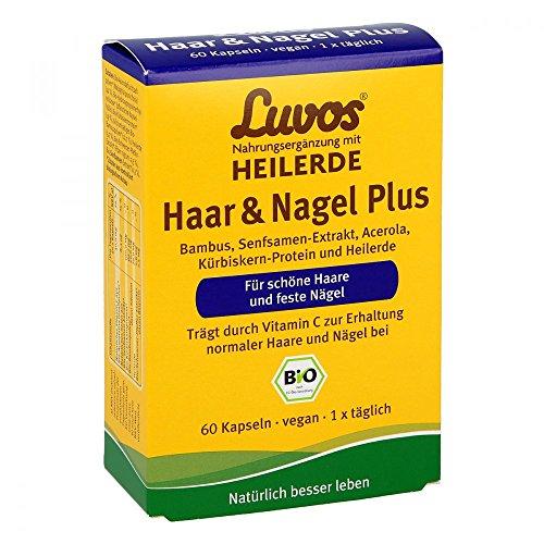 Luvos Heilerde Bio Haar & Nagel Plus Kapseln, 60 St. Kapseln