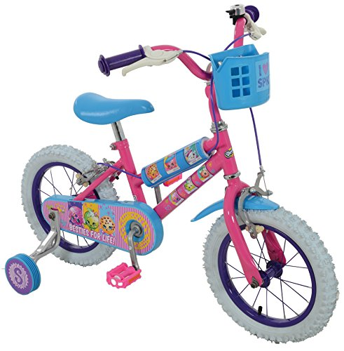 Shopkins Girl Collectible Bike, Pink, Size 14