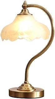 WYBFZTT-188 Verre de Base Métal Cuivre Abat Salon Chambre Bureau Chevet Protection des Yeux Lampe de Table