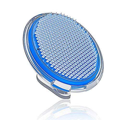 trifycore 1pc las cerdas incarnés y brosse-rasage cuidado exfoliante rostro y el cuerpo de la celulitis cepillo de masaje para los hombres y las mujeres (azul), salud y cuidados personnels