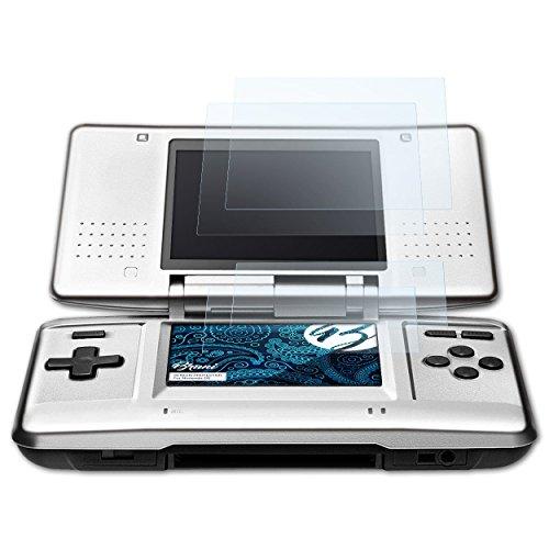 Bruni Protecteur d'écran pour Nintendo DS Film Protecteur, cristal clair Écran protecteur (Set de 2)