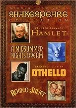 Shakespeare Collection: (Hamlet 1996 / A Midsummer Night's Dream 1935 / Othello 1965 / Romeo & Juliet 1936)