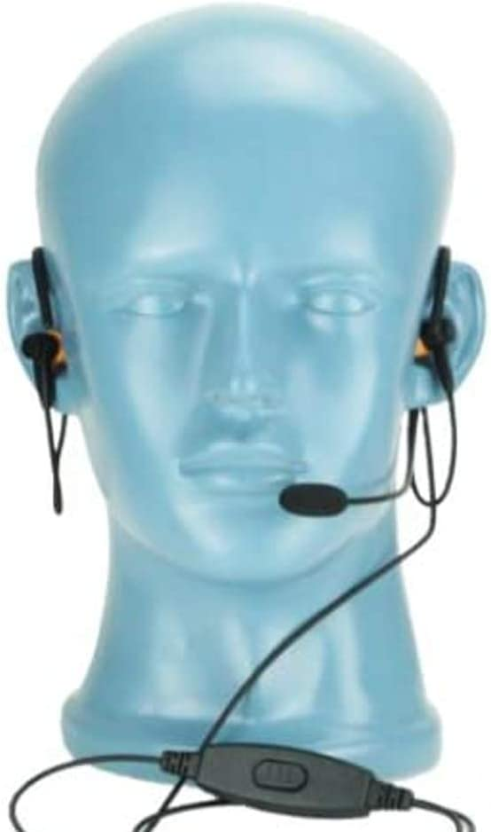 BTH Headset NC Las Vegas Mall New Free Shipping Mic PTT Dual In-Ear Attenuation Motorol for Noise