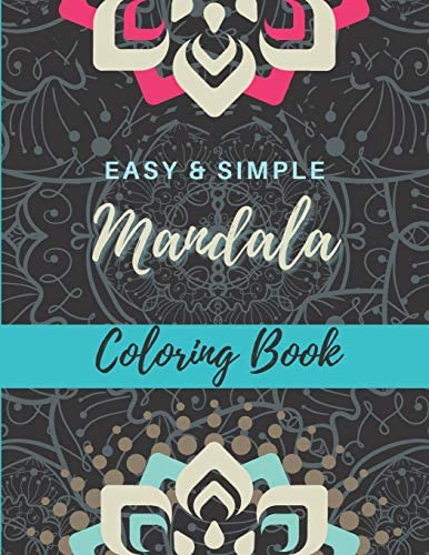 Easy and Simple Mandala Coloring Book Great for Adults and Beginners Bold Lines Simple and Stress product image