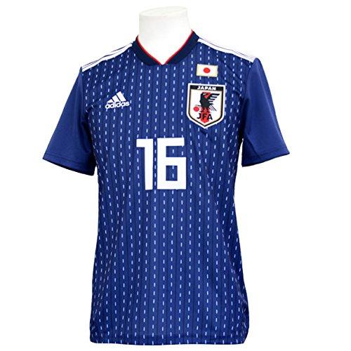 アディダス サッカー日本代表 2018 ホームレプリカユニフォーム半袖 16.山口蛍 cv5638 M