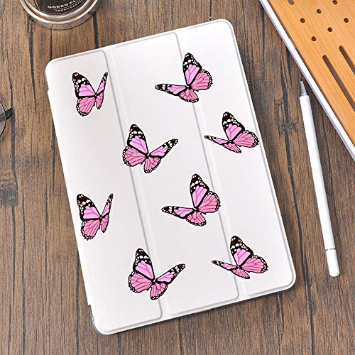 lingtai Butterfly Silicone Ipad Case For 10.9 Air 4 12.9 Pro 2020 10.5 Air 3 With Pen Slot 10.2 Inch 8th 7th For 12.9 Pro 2018 Mini 5 (Color : 1108887, Size : 10.5 iPad Pro Air 3)