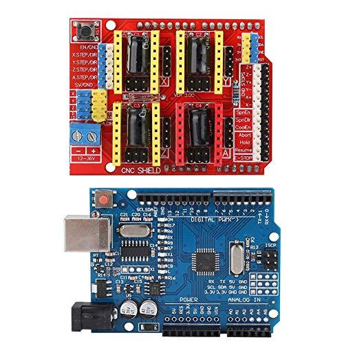 Huairdum Practical Stepper Motor Driver, Stepstick DRV8825, Compatible for Arduino