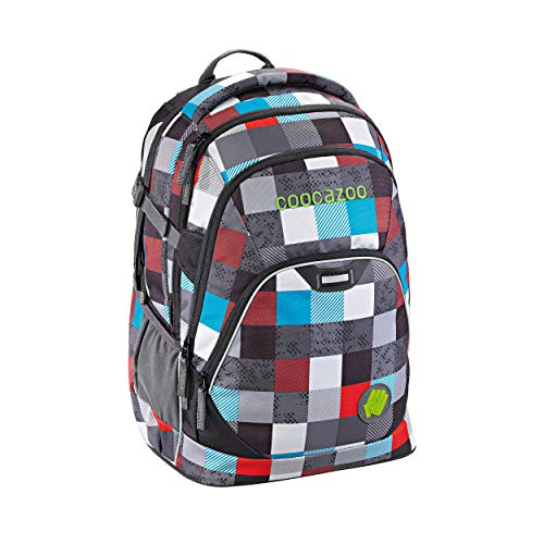Coocazoo City and School EvverClevver 2 Rucksack 45 cm checkmate blue red