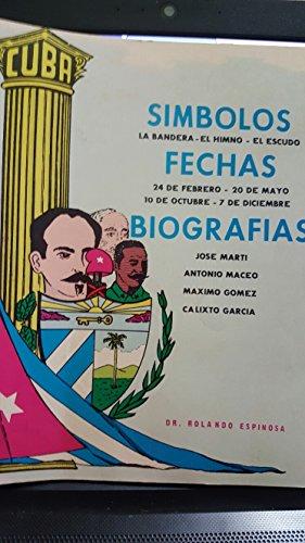 Símbolos, fechas y biografías de José Martí, Antonio Maceo, Máximo Gómez y Ca...