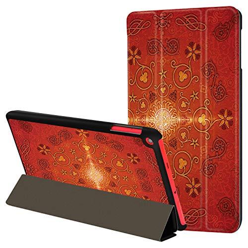 HUASIRU Pintura Caso Funda para Fire HD 8 Tableta (7ª / 8ª ...