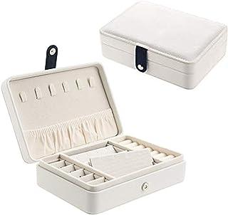 Start Makers Jewellery Box Ring Necklace Earring Bracelet Storage Box Leather Travel Multifunction Jewelry Organizer Box (...