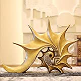 HandWerk Dekoration Moderne Harz skulptur Modell Buch Zimmer bücherregal Wohnzimmer Muschel eingerichtet kreative einrichtungsgegenstände Ornamente