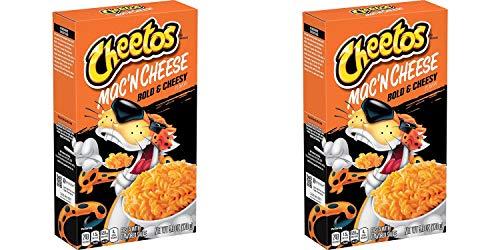 Cheetos Mac'n Cheese - Bold & Cheesy Flavor (Pack of 4)