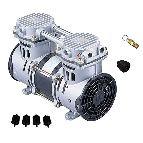 HALF OFF PONDS Patriot Pond Pro 3.9 Cubic Feet per Minute Deep Water Subsurface Air & Aeration Rocking Piston Air Compressor for Deep Water Subsurface Aeration of Ponds and Lakes