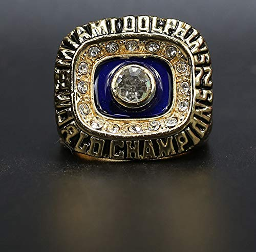 WOCTP Fútbol Americano Dolphins 1972 Championship Rings Premium Series Replica Rugby Creative Ring 12#