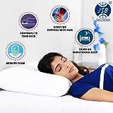 JSB MF008 Memory Foam Pillow for Sleeping Comfort King Size