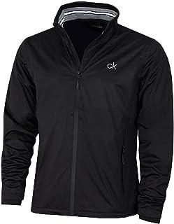 Calvin Klein Mens 2021 Chest Logo Waterproof Golf Jacket