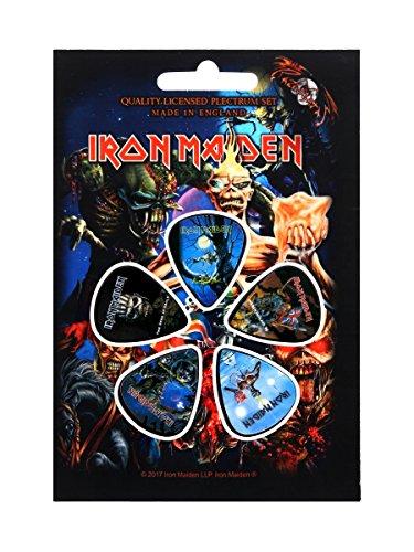Iron Maiden - Later Albums (Set Plettri) Rock Merchandising Ufficiale