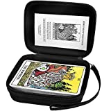 Case for The Rider Tarot Deck Cards, Universal Tarot Organizer Storage Box, Portable Carrying Card Deck Holder Hold Up to 80 Cards (Bag Only)