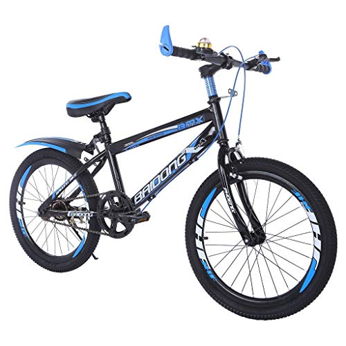 EuCoo Youth Mountain Bike Teens Hardtail Mountain Bike For Boys, Stone Mountain 20 inch 7-Speed Bicycle
