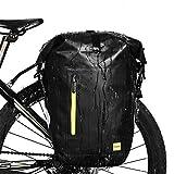 Rhinowalk Bike Bag Waterproof Bike Pannier Bag 25L,(for Bicycle Rack Saddle Bag Shoulder Bag Laptop Pannier Rack Bicycle Bag Professional Cycling Accessories)