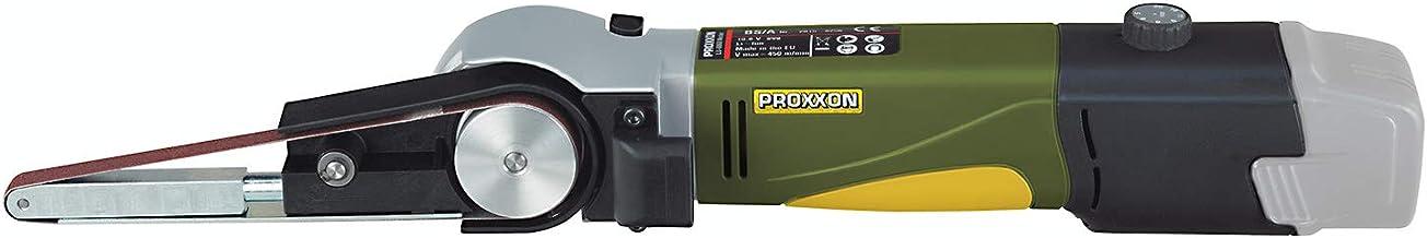 Proxxon Szlifierka taśmowa BS/A 29812 i 4 taśmy szlifierskie, główna obudowa z poliamidu wzmocnionego szkłem, prędkość szl...