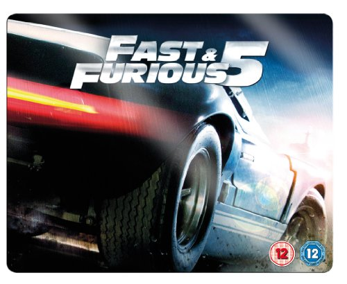 The Fast And The Furious 5 - Limited Steelbook (Blu-Ray)
