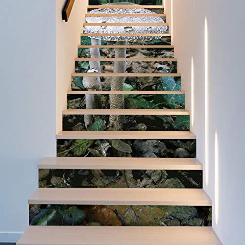 Escalera escaleras nuevo producto nuevo champiñón hogar extraíble paso pegatinas