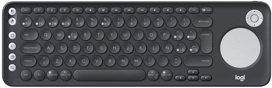 Logitech K600 Teclado con Touchpad y Mando de Dirección para ...
