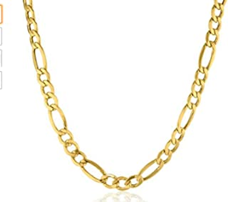 Best yellow gold chain mens Reviews
