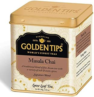 Premium Masala CTC Black Tea   100% Authentic Indian Masala Chai with natural ingredients   (Tin Can, 200 gm/7.05 Oz)