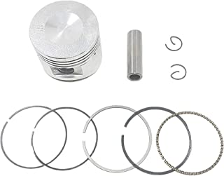 Amyli 52.4mm Piston & Rings Kit for 70cc 90cc 110cc ATV Quad Dirt Bike Horizontal Engine