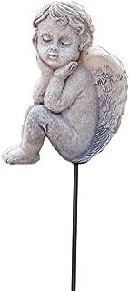 MUAMAX Decorative Angel Garden Stakes Miniature Angel Fairy Garden Angel Small Memorial Statue