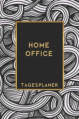 Home Office Tagesplaner: Terminplaner für Telearbeit mit To Do Liste, Notizbereich liniert für Protokolle und Tagesplanung im Homeoffice 160 Seiten Din A5, Perfektes Geschenk