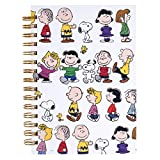 Graphique Peanuts Gang Hard Cover Journal w/Charles Shultz's Beloved Peanuts Characters, Fun, Durable Notebook for Notes, Lists, Recipes, and More, 160 Ruled Pages, 6.25' x 8.25' x 1'