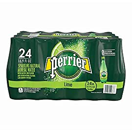Perrier Flavored Sparkling Mineral Water, Lime, 16.9 Oz, Pack of 24 Bottles 7