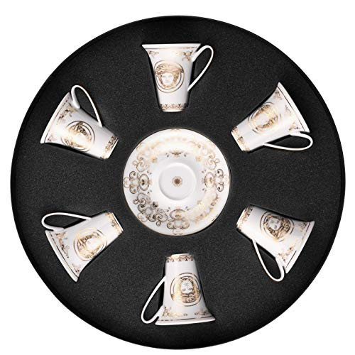 Versace Set Espressotassen MEDUSA GALA GOLD