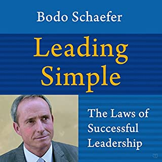 Leading Simple audiobook cover art