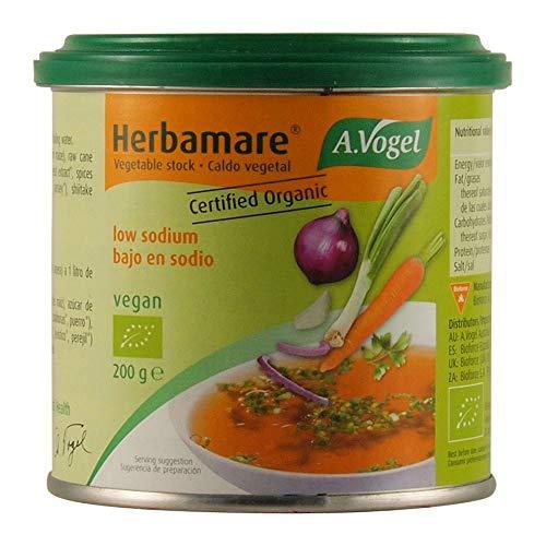 A.Vogel (Bioforce) Herbamare Bouillon Bajo En Sodio Bote 200Gr 400 g