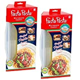 Fasta Pasta 2 Pack - Microwave Pasta Container Cooker