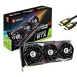 MSI GeForce RTX 3070 Gaming X Trio Tarjeta gráfica, 8GB GDDR6, PCIe 4.0, VR Ready, Ray Tracing, RGB, 3xDisplayPort, 1x HDMI 2.1 8K, 3X TORX Fan 4.0, cable HDMI Mytrix