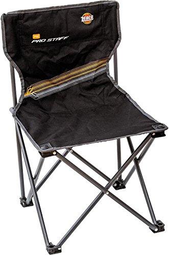 Zebco Pro Staff Stuhl Mini, schwarz, 34 cm