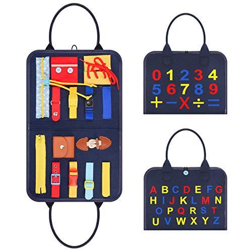 Dreamingbox Juguetes Montessori 1 2 3 4 Años, Juguetes Educativos 1-4 Años Regalos Niño 1-4 Años Juguetes para Chicos Juguetes Sensoriales Bebe Regalos para Niños Busy Board