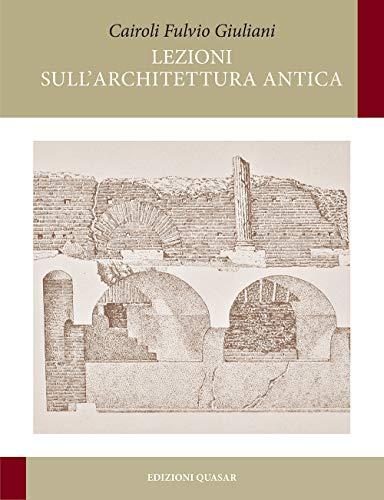 Lezioni sull'architettura antica