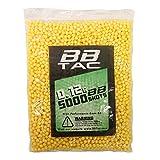 BBTac Airsoft BBS .12g 11,000 Rounds 6mm for Airsoft Guns BB Pellets Ammo 0.12 Gram Light Weight