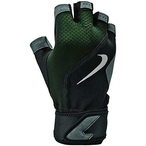 Nike heren Premium Fitness Gloves zwart/volt/zwart/wit S