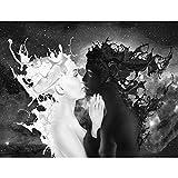 Papel Pintado Fotográfico Café con leche 352 x 250 cm Tipo Fleece no-trenzado Salón Dormitorio Despacho Pasillo Decoración murales decoración de paredes moderna - 100% FABRICADO EN ALEMANIA - 9222011a